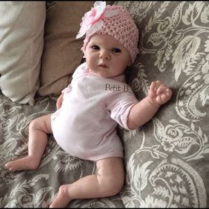 Reborn chubby baby Girl